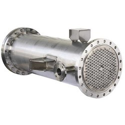 SS Shell and Tube Heat Exchanger, for Food Process Industry, Oil