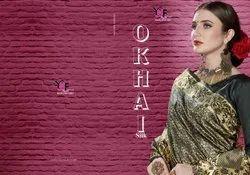 Okhai Silk Vol 1 Tanchui Art Silk Saree By Yadu Nandan Fashion