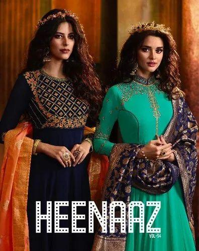 Georgette Heenaaz Vol 54 Heenaaz Salwar Kameez Vol 54 by MF