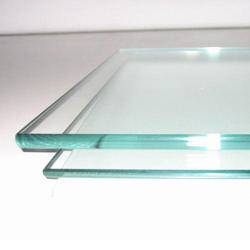 Transparent Toughened Glass, For Door, Shape: Flat