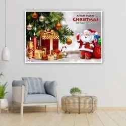 纸矩形圣诞海报,48.5 x 33厘米