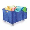 HDPE Super Jumbo Crate Trolley 100 kgs
