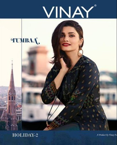 0ec51b63 Vinay By Tumbaa Holiday Vol 2 Long Kurti with Jacket Collection By Online