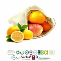 GOTS Certified Organic Cotton Produce Bags