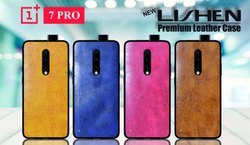 Lishen-Leather One Plus 7 Pro Mobile Cover