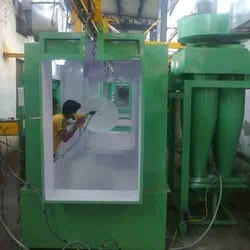 Electric Powder Coating Booth, Automation Grade: Automatic