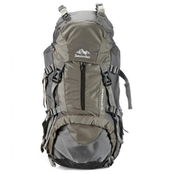 17fcc1db86b5 Polyester Closure Grey Senterlan Polyester Backpack Rucksack