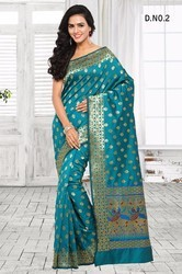 South Indian Silk Printed Sarees