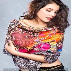 Pure Silk Scarves Digital Printed