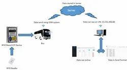 Custom RFID Based Vehicle Tracking System Using IOT Device