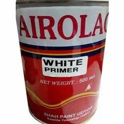 Satin Alkyd Primer Airolac White Paint Primer, Brush