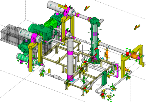 piping 3d model cad outsourcing services in thaltej ahmedabad rh indiamart com Piping Diagram Key Gas Piping Diagram