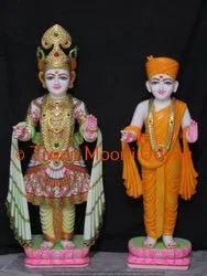 Marble Aksher Purshotam Statue