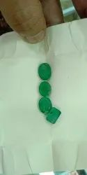 Natural Zambian Columbian Emerald Gemstones