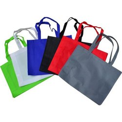 Plain Non Woven Loop Handle Carry Bag