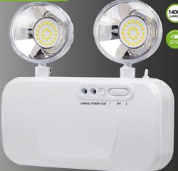 LED White Industrial Emergency Light