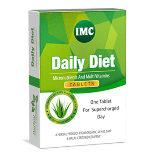 IMC Daily Diet Tablet, Packaging Type: Box