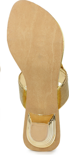 d900f90b6e7 Star Style Sts-0034-Golden Synthetic Party Heels at Rs 664  pair ...