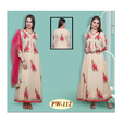 Latest anarkali embroidey ladies suits
