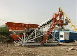 Pan Mixer 30 cum Concrete Batching Plant