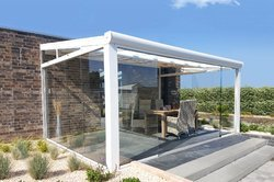Fixed Retractable Outdoor Awnings