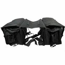 Black Bullet Saddle Bags
