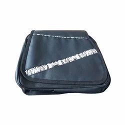 Black Plain Ladies College Bag