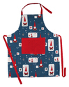 Christmas Printed Kitchen Apron