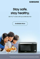 Samsung Convection Microwave Oven, For Personal