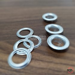 No. 900 (10mm) Aluminum Eyelets & Washers Polished