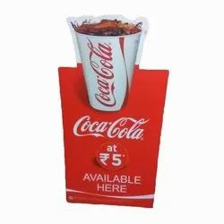 Promotional Cut Out Display Stand
