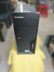 Lenovo Core 2 Duo 1st Gen Desktop Pc With 1 Year Warranty, Windows 7 Pro, Tower