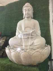 Buddha Statue Decorative Indoor Water Fall Water Fountain