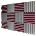 Solace Acoustic Foam Wedge Shape, For Sound Diffusers