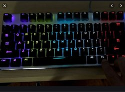 Electroluminescent Keyboard