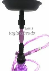 Pink Colour Kasolic Glass Hookahs
