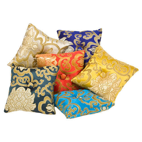 Cotton Printed Singing Bowl Cushion Rs 195 Piece Nepali