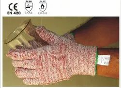 Moderate Heat Handling - Hotsafe Terry Knitted Gloves