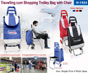 Traveling Cum Shopping Trolley Bag with Chair-1524