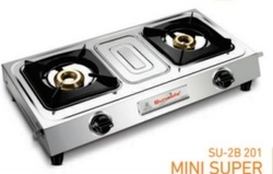 Double Burner Gas Stove SU 2B-201 Mini Super