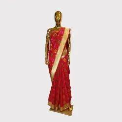Rani Meenakari Katan Silk Saree