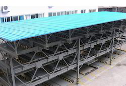 Steel Structure For Multi Level Car Parking