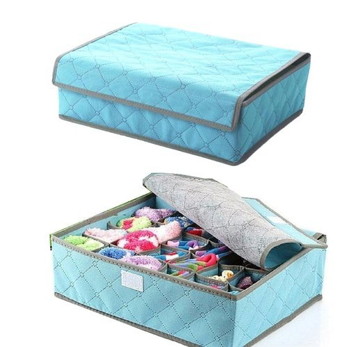 Compartment Non Smell Drawer Organizer Bra Lingerie Socks Wardrobe Closet Storage  Box