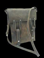 Hanco Leather Designer Vertical Bag