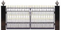 Galvanized Iron Decorative Gate