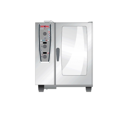 Rational Plus 101 Gas (10x 1/1 GN) 771mm Combi Master Oven