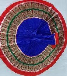 Indian Rayon Cotton Plain - Navratri - Long - Gujarati - Garba Special Skirt