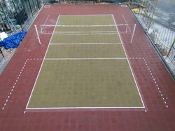 Rubber Tiles For Sport Play Surfaces