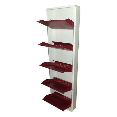 5 Shelf Wall Mounted Shoe Rack