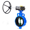 Lever Operated CI Lug Type Butterfly Valve